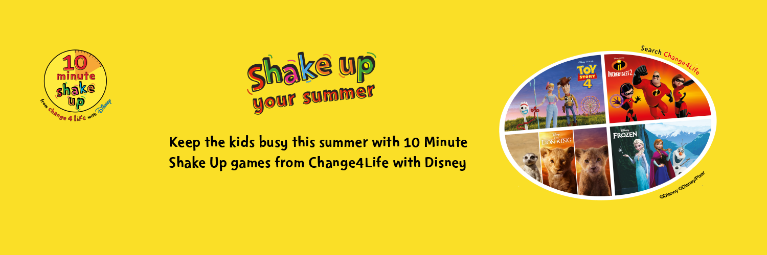 Are your kids ready to Shake Up this summer? :: Children and